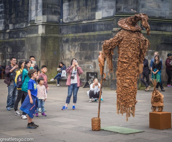Street Performer, Edinburgh