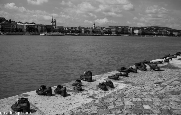 Bronze Shoes - Memorial to Jews murdered by the Nazi - Budapest
