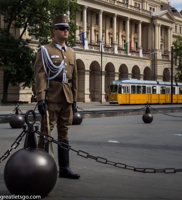 Guard ParlimentBudapest