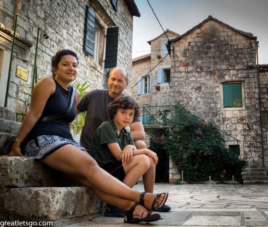 Family Photo Stari Grad Croatia