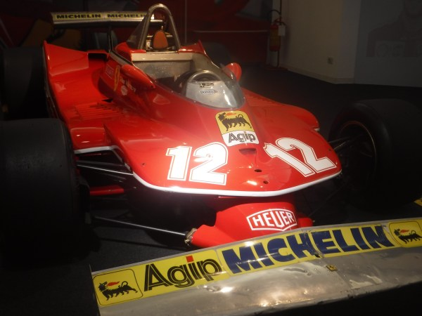 Gilles Villeneuve drove this car!