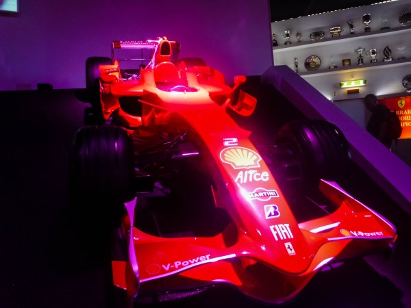 Latest Ferrari F1 Car