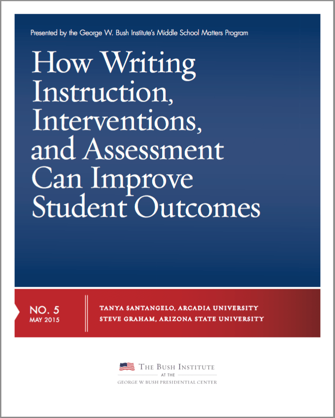 How Writing Instruction, Interventions, and Assessment Can Improve Student Outcomes