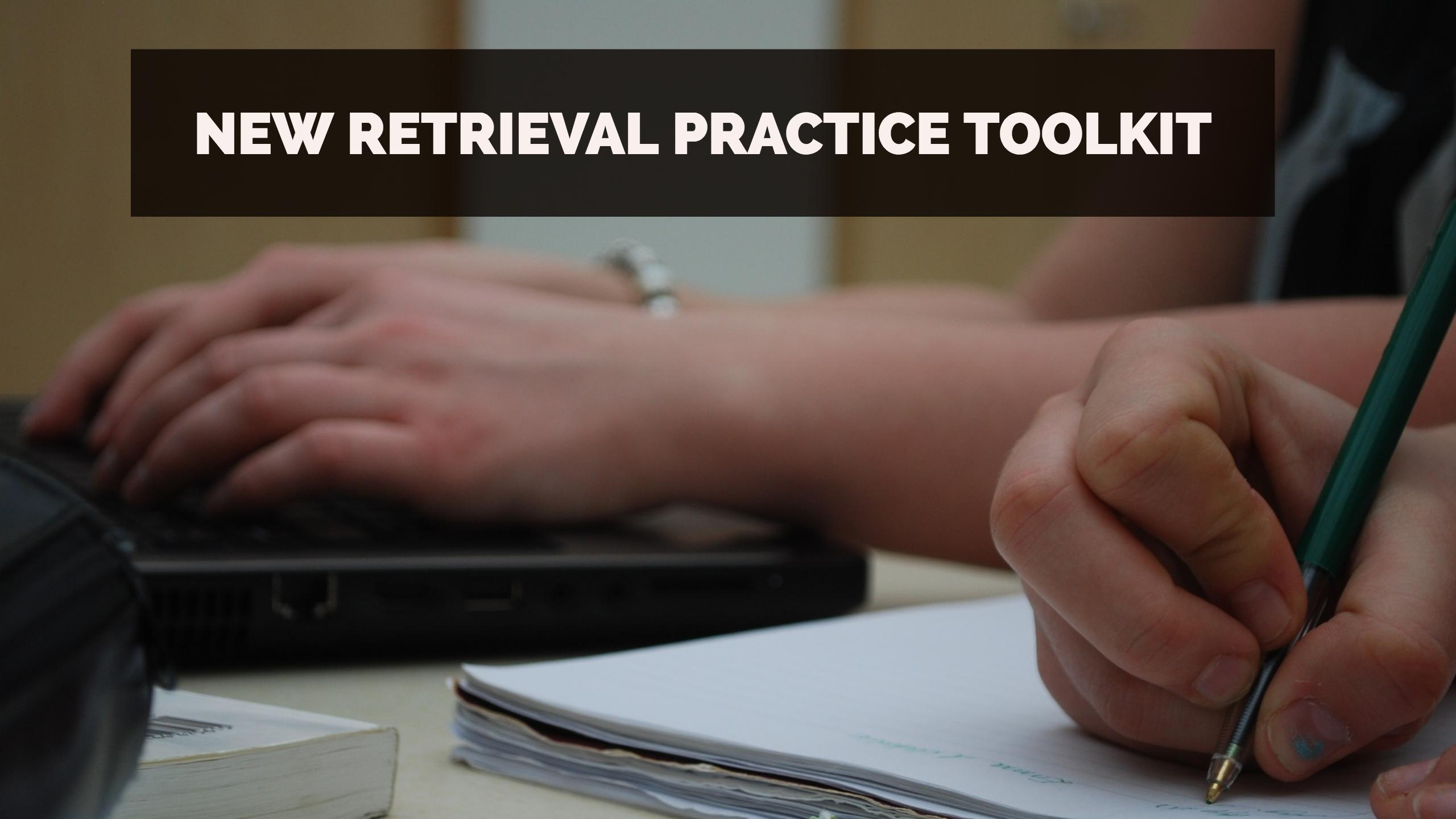 retrieval practice toolkit