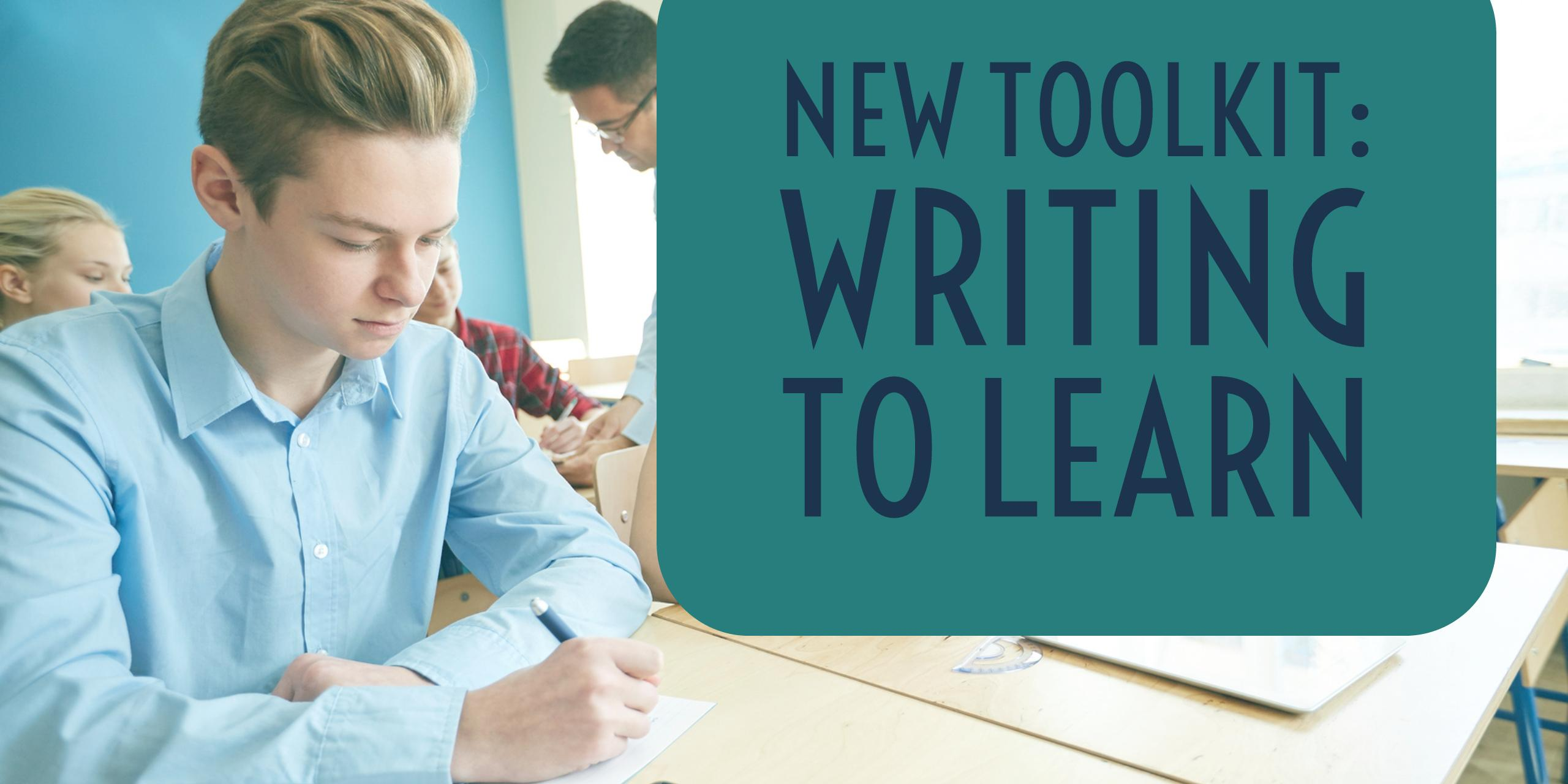 Writing to Learn Toolkit