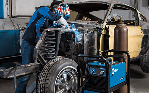 Welding Metal Work Vehicle repairs and maintenance