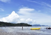 aie manih beach tourist attractions in padang