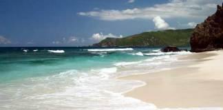 pantai tanjung an destinasi lombok