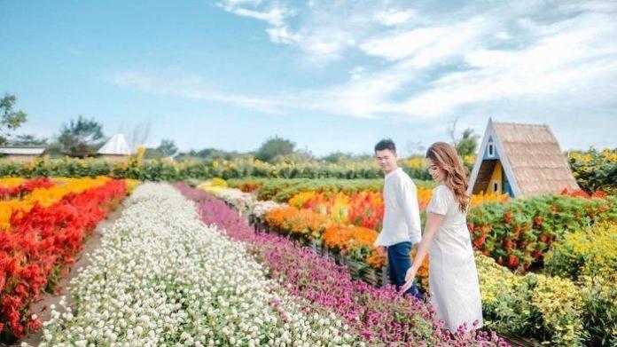 romantic garden wisata hits jogja