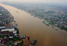 sungai kapuas sungai terindah di indonesia