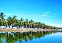 pantai kanipang tempat wisata murah makassar