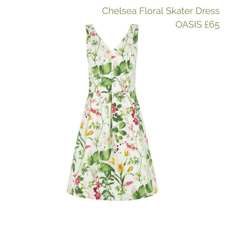 Oasis dress captioned