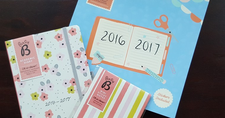 Review: Busy B Diary and School Year Calendar