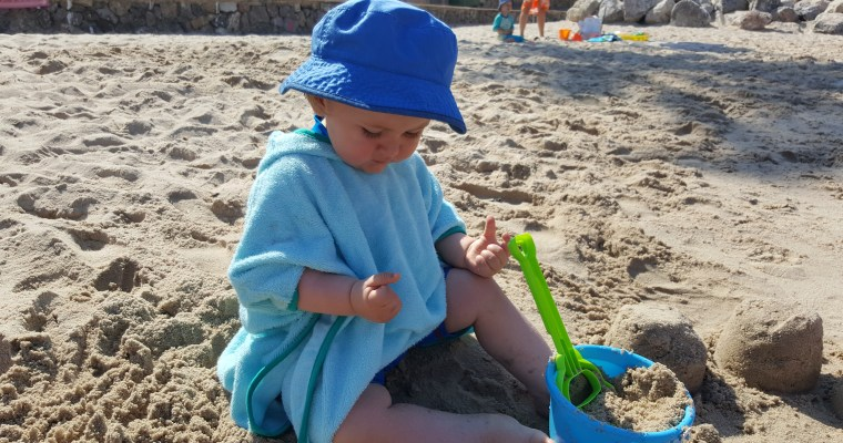 Review: Cuddledry SPF50+ Toddler Poncho Towel