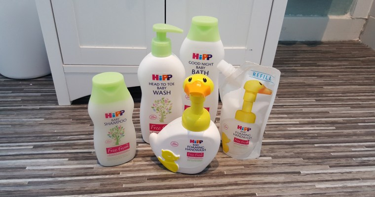 Introducing the new HiPP Organic baby care range