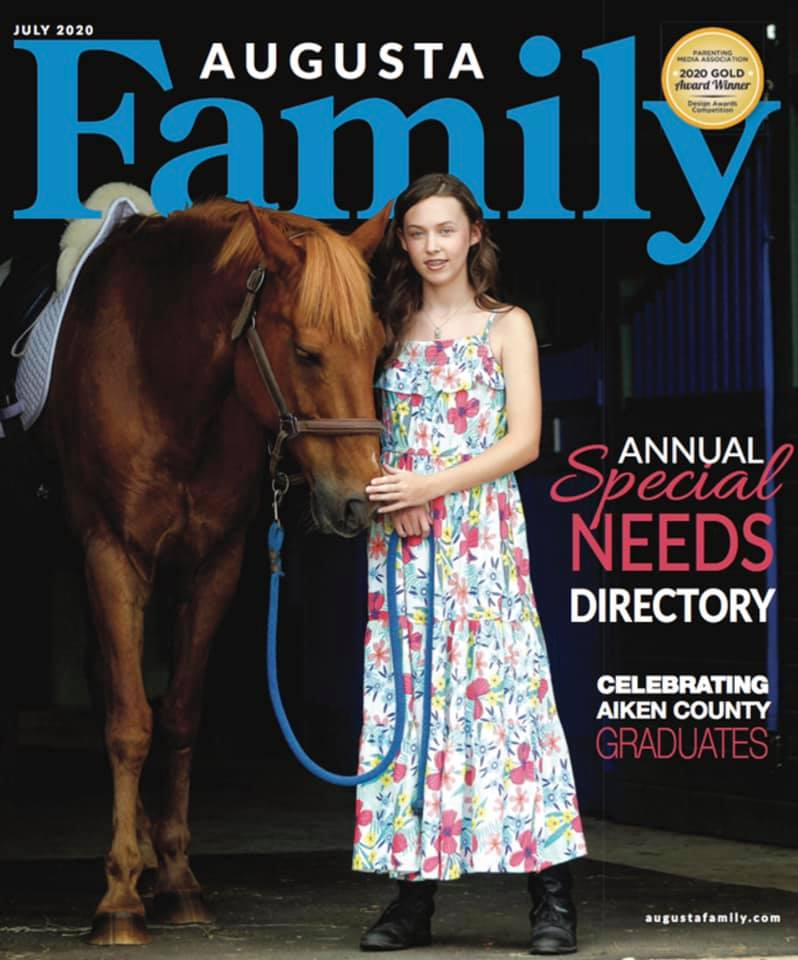 cover image of Augusta Family Magazine