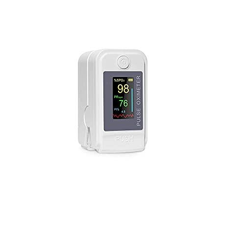 Care4u Made in India Pulse Oximeter Fingertip, Blood Oxygen Saturation Monitor Fingertip, Blood Oxygen Meter Finger Oximeter Finger with Pulse Health Care