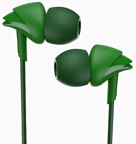 Boat Bassheads 4.16666666666667 Made in India in Ear Wired Earphones with Mic(Vibrant Green) Accessories