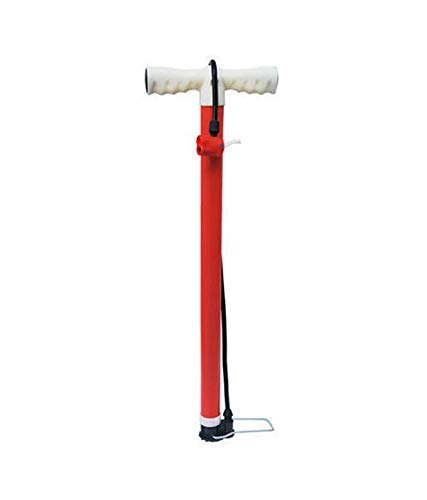 SMAT Indian Made Heavy Duty, Strong Handle Provides Comfort and Durable and Portable Cycle Pump for All Kinds of Cycles Tyre, Bicycles Tyre, Scooters Tyre, Balls, Bikes Tyre, Hardware