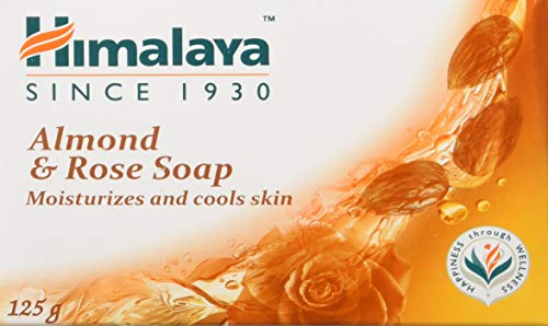 Himalaya Herbals Almond and Rose Soap, 125g (Pack of 6) Soap