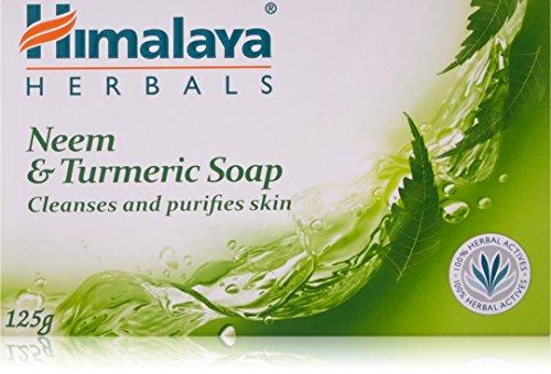 Himalaya Neem and Turmeric Soap, 125g Soap