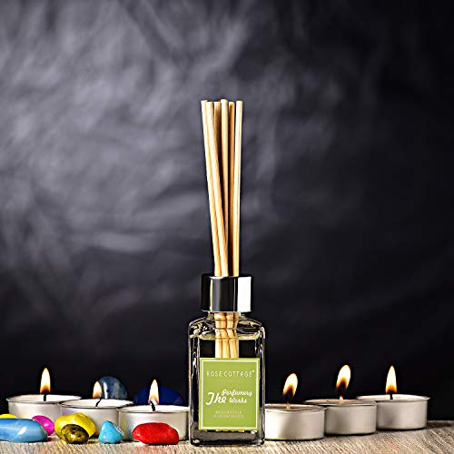 Archies® Scented Aromatherapy Reed Diffuser with Essential Oil Relaxation, Fragranced Ambient Atmosphere for Diwali Home, Office, Bathroom, Bathtub, Showers, Meditation,Women Decor & Space improvement
