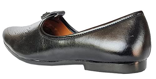 WOYAK Faux Leather Punjabi Jutti, Nagra Shoes, Jutti, Jjalsa, Nojari, Rajasthani Jutti, Mojari for Men Footwear