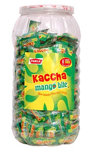 Parle Kismi Elaichi Flavoured Toffee & Parle Kaccha Mango Bite Raw Mango Flavoured 600+ Toffee in Combo Pack. Dry Snacks