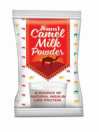 Amul Camel Milk Powder : Pack of 10 Sachets 25gm Each