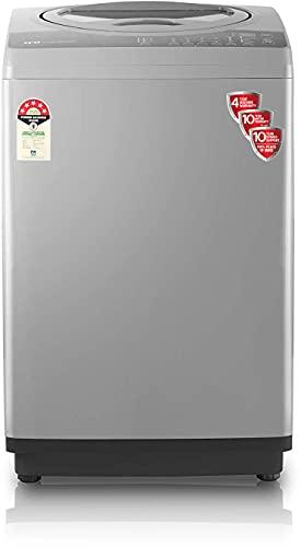 IFB 7 Kg 5 Star Fully-Automatic Top Loading Washing Machine (TL-RGS Aqua, Grey, 3D Wash technology,Triadic Pulsator,In-built wheels,Smart Sense)