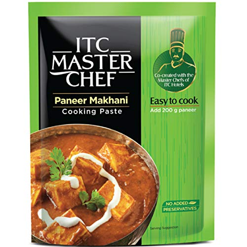 ITC Master Chef Paneer Makhani Cooking Paste 80g, Ready to Cook Spice Mix, Easy to Cook Masala Mix