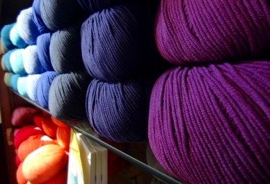 I think this will become my new favorite...it's an extrafine 100% merino wool. Super soft!