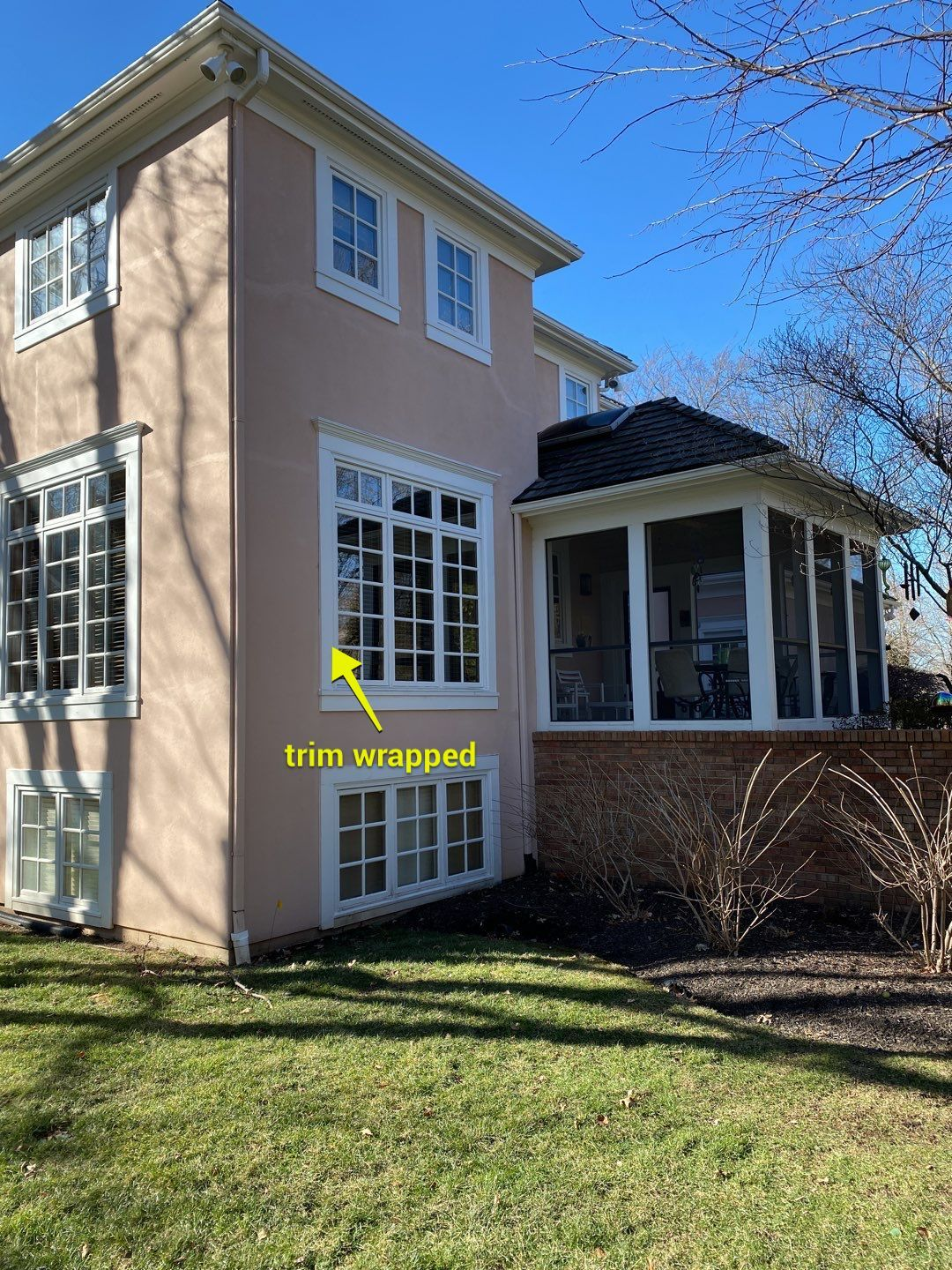 wrapped trim - How Much Will It Cost to Paint my Exterior - Overland Park, Lee's Summit, Kansas City Painting