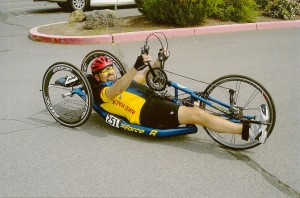 Dave Handcycling