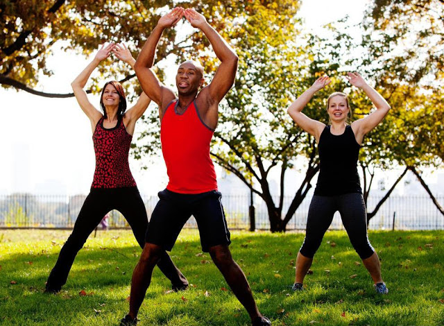 Fitness in the Park- Outdoor Muscle Playground – Great River