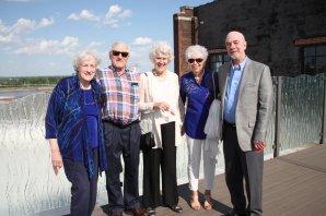 Kay Drey, John and Susan Rava, Jim Wilson, Mary Beth Layton