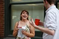 Caitlin Zera laughing