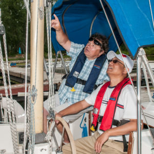 teaching introduction sailing