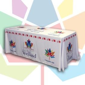 Welland 150th Table Cloth