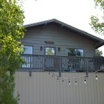 An exterior photo of Birch Cottage