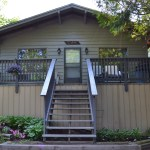 An exterior photo of Cedar Cottage