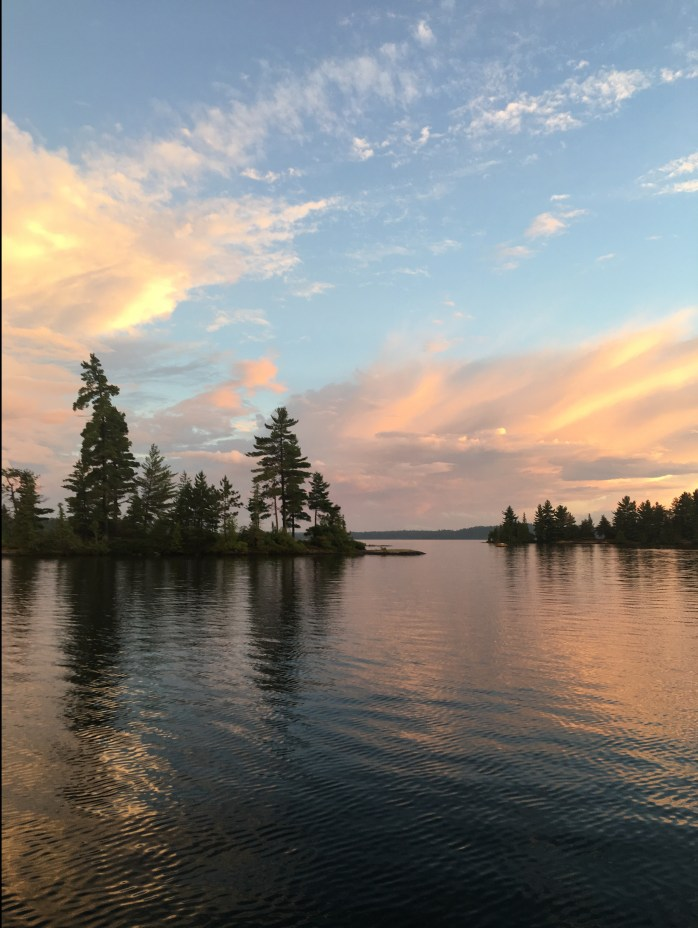 Beautiful views of Lake Temagami with our cottage and boat rental package.