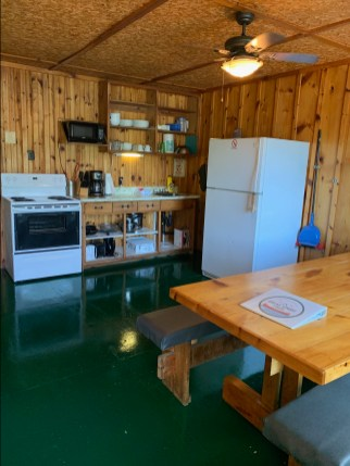 Cottage is fully equipped, clean, and modern with full use of the kitchen.