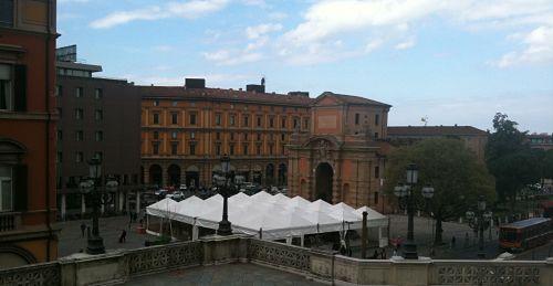 Bologna book tent