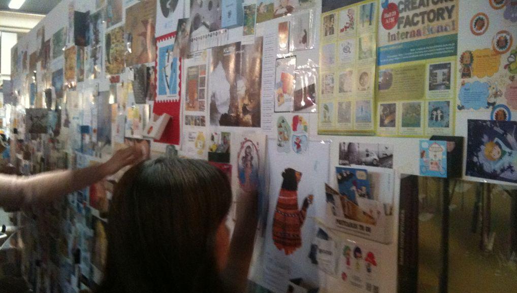 illustrator wall