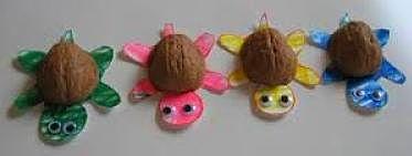 walnut turtle craft