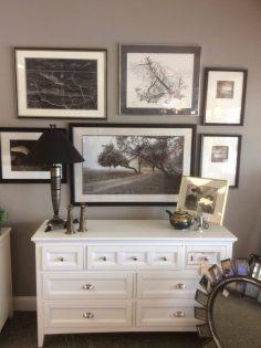 Dresser $296.25 Lamp $59 Teapot $49 Candlesticks $15 Vase $10