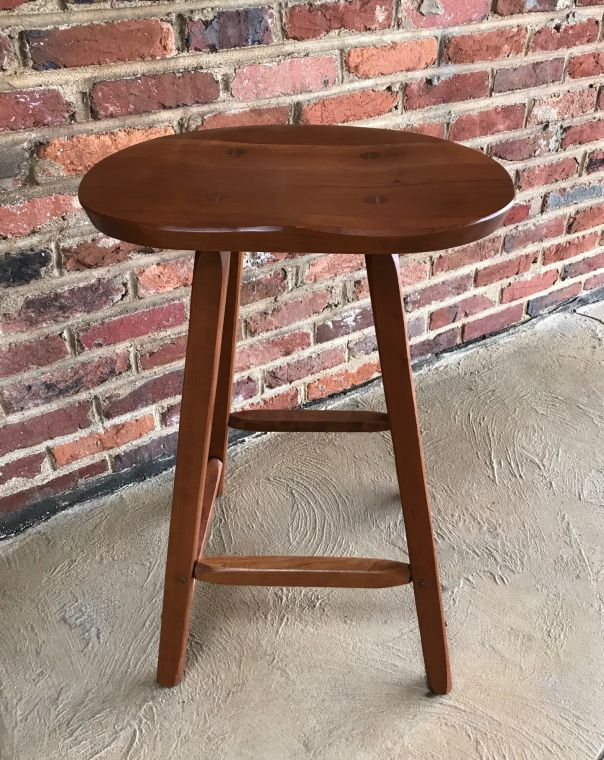 image of wooden stool