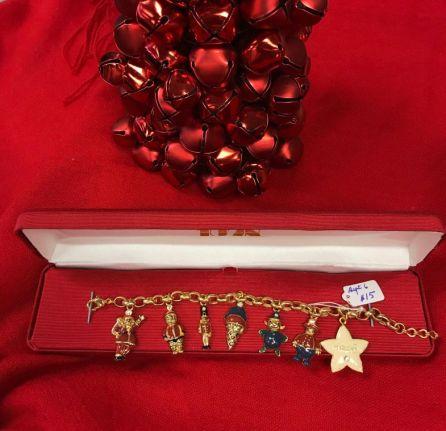 $15 Holiday Charm Bracelet