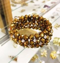 $15 stretch beaded bracelet